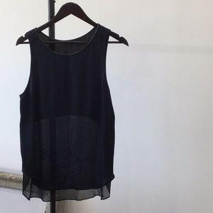 Colour blocked blouse